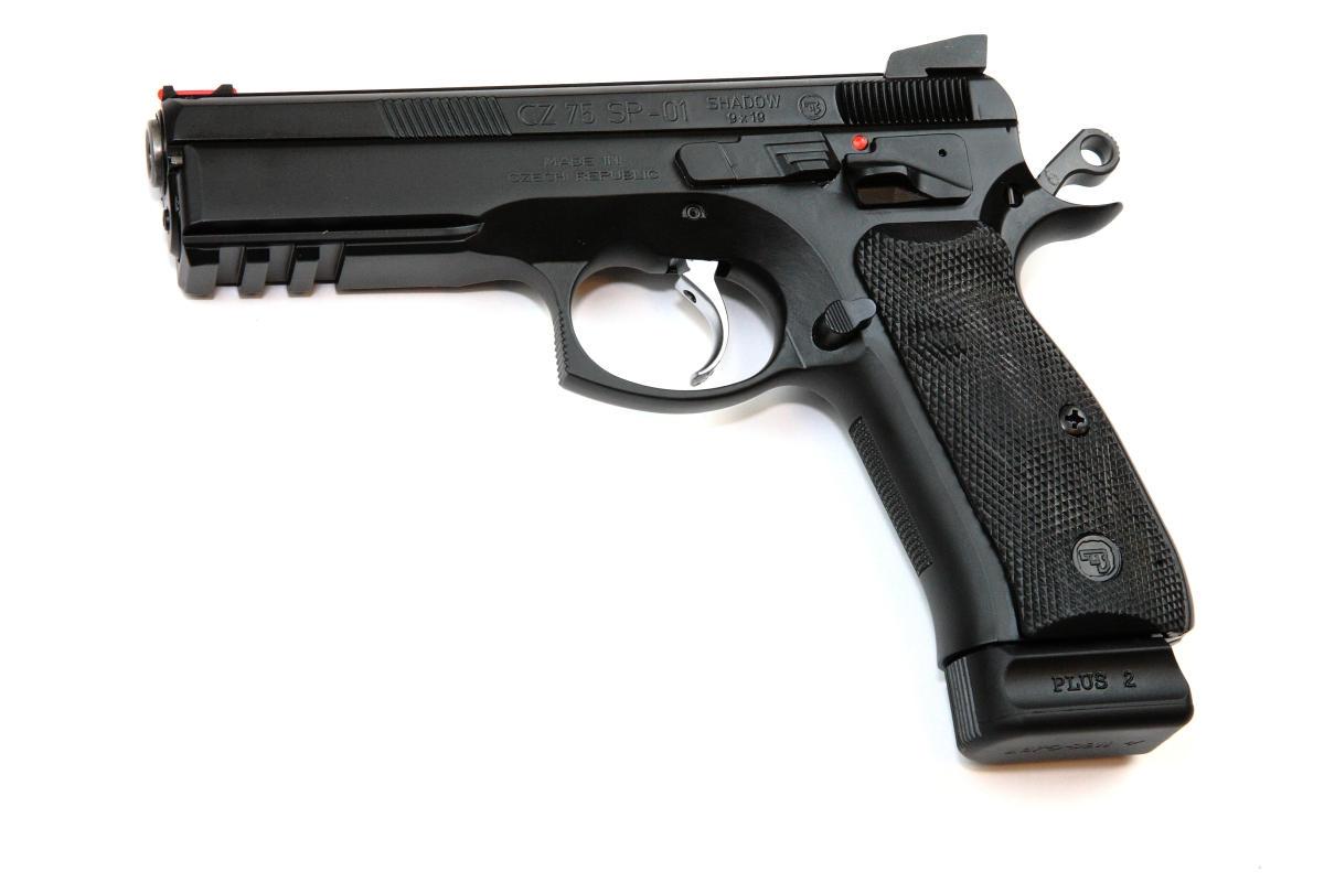 CZ 75 SP-01 Shadow, 9x19mm