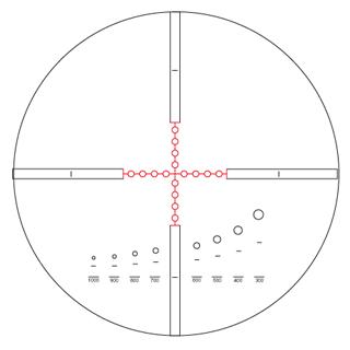 Mill-Dot 2 Absehen Meopta