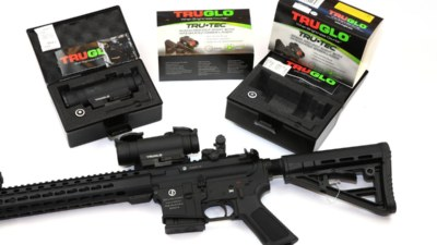 TRUGLO TRU•TEC 30MM RED•DOT SIGHT W/ INTEGRATED LASER