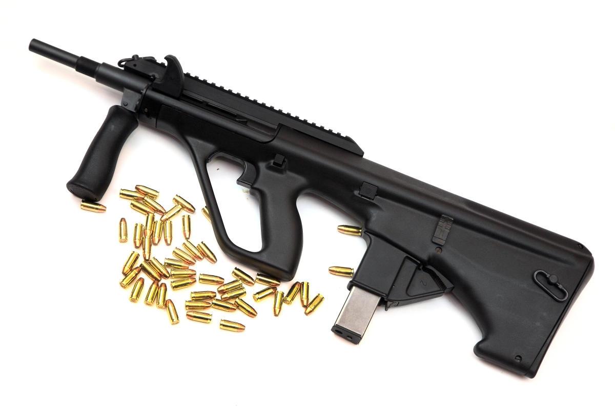 Steyr AUG 9x19mm, 9mm Para