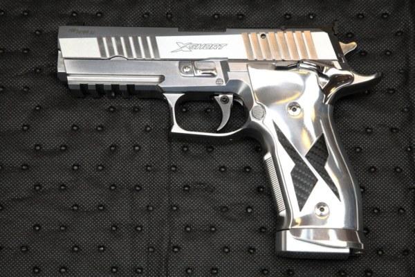 Sig Sauer P226 X-Five Chrom & Carbon