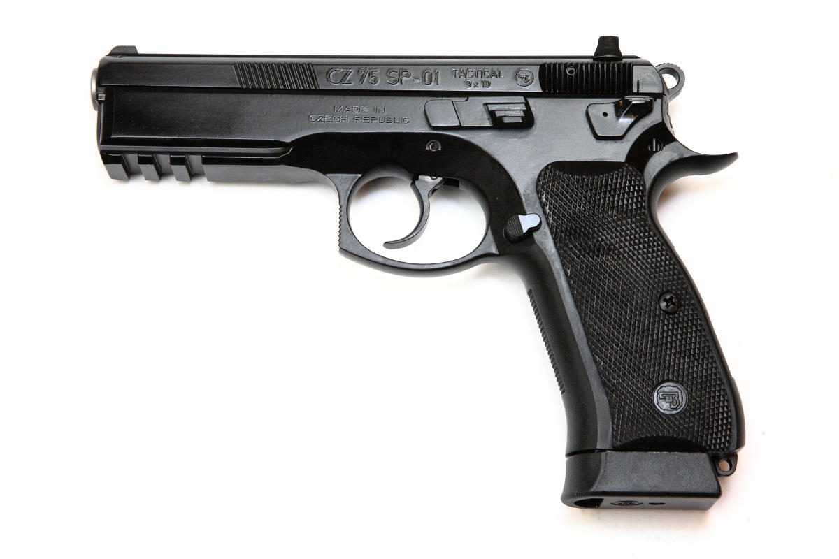 CZ 75 SP-01 Tactical , 9x19mm