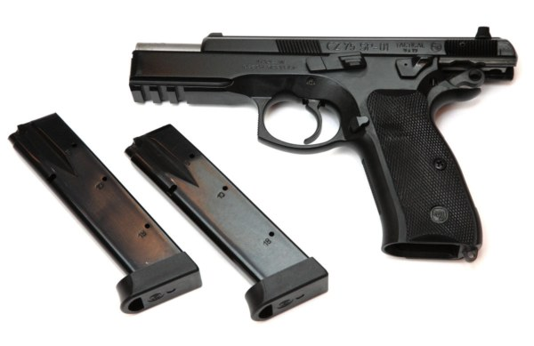 CZ 75 SP-01 Tactical , 9x19mm