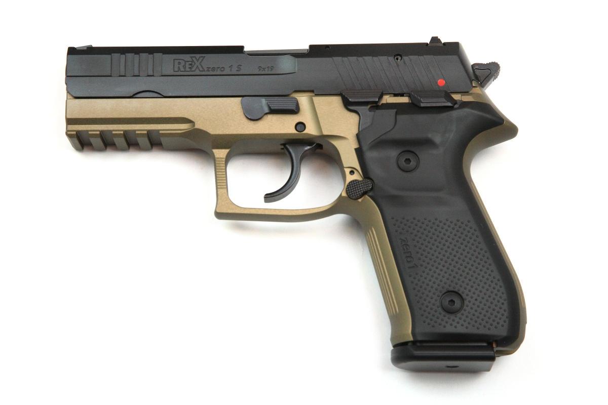 Arex Rex Zero 1 9x19mm FDE