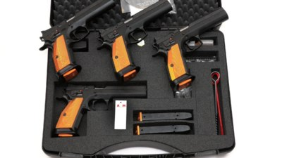 CZ 75 TS Tactical Sports orange