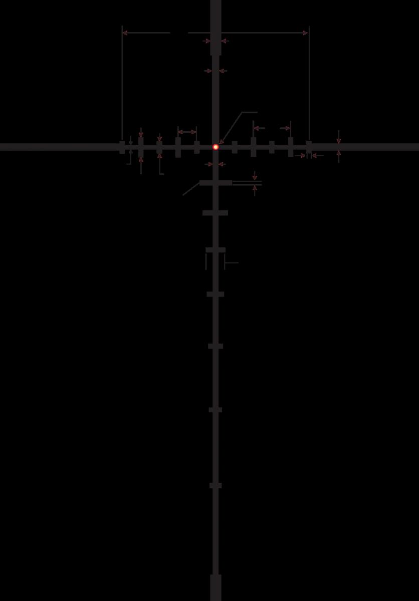 Burris XTR II Riflescope 1-8x24 mm