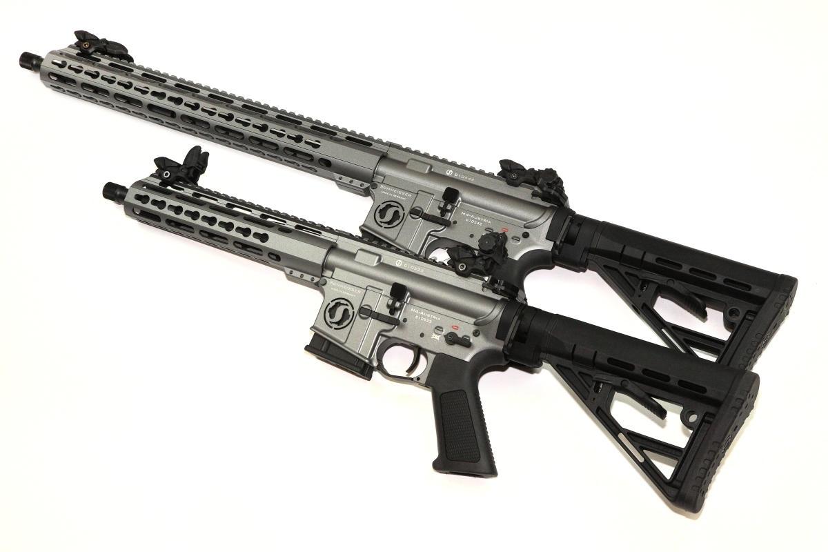"""Schmeisser M4 Dynamic L 16,75"""" und S4F Dynamic 10,5"""""""
