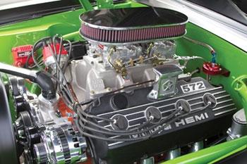 hemi-cuda-572-motor