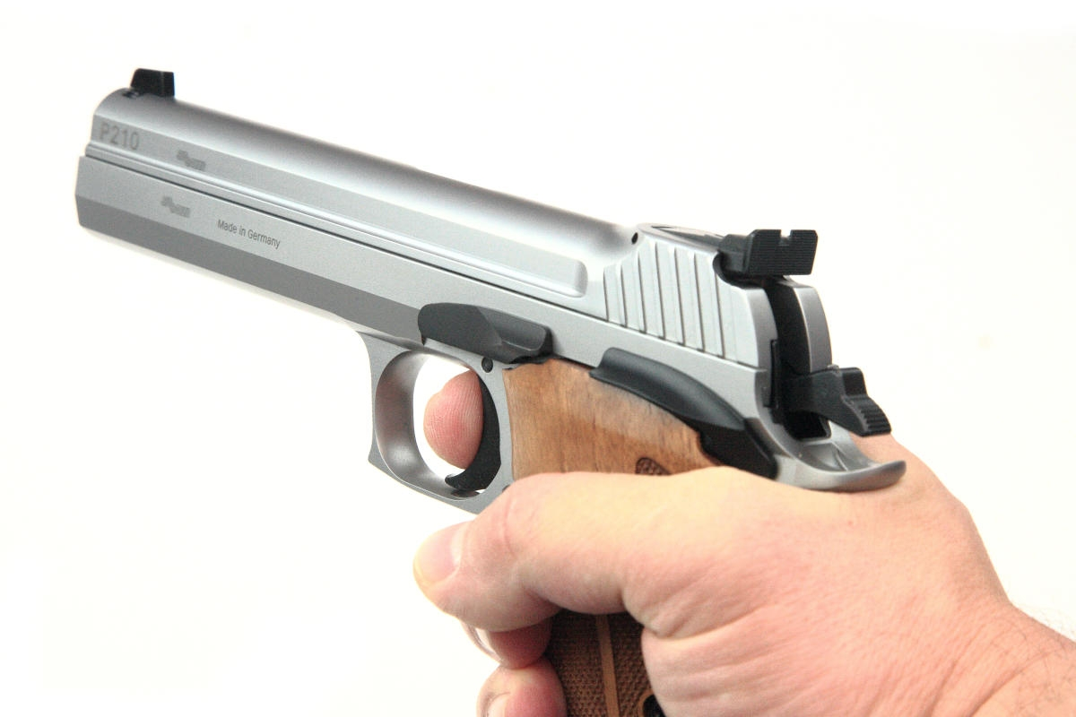 Sig Sauer P210 SuperTarget 5 Zoll 9x19mm