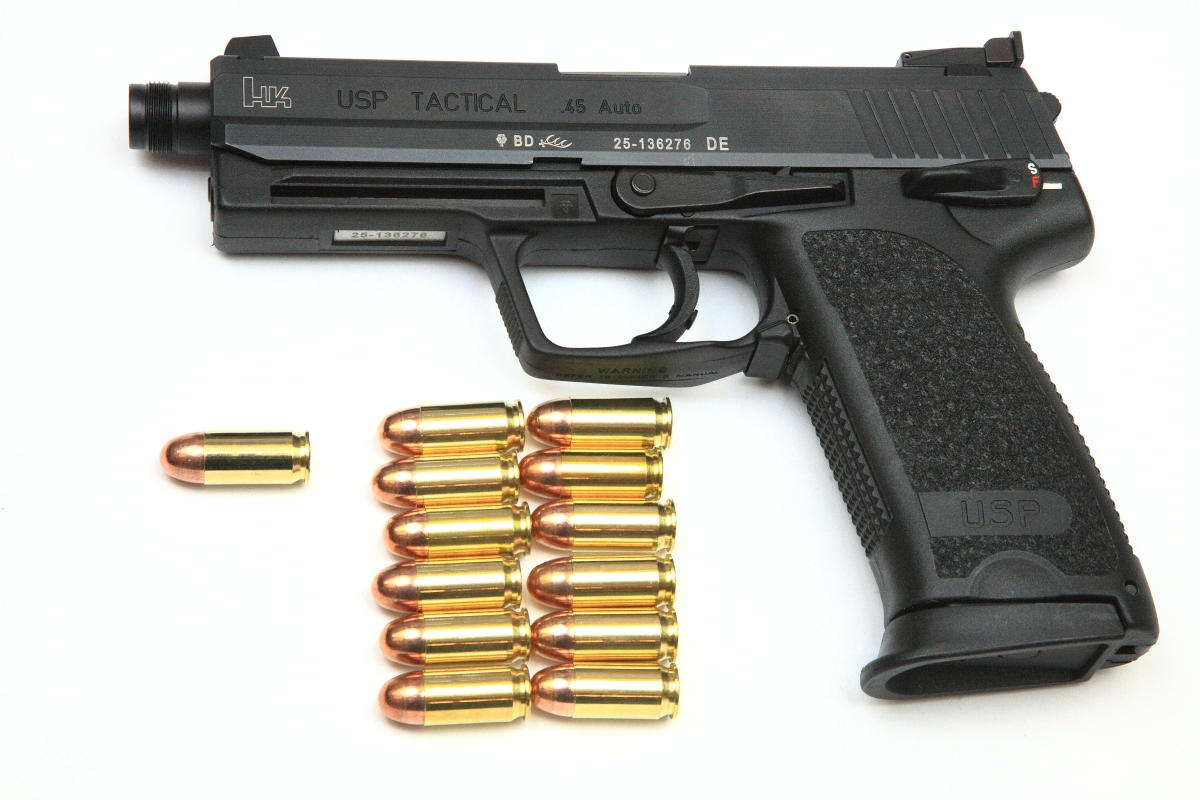 Heckler & Koch USP Tactical .45 ACP