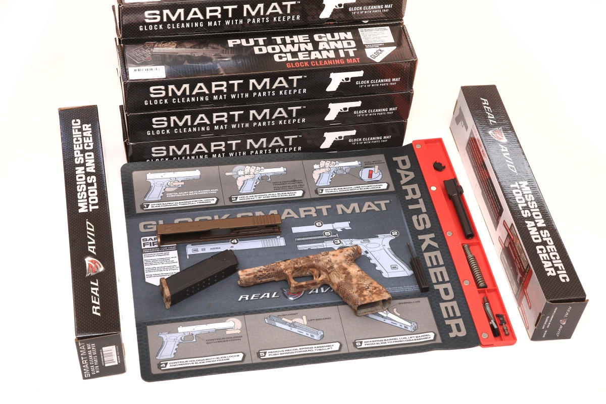 Real Avid Smart Mat Glock, Range Station