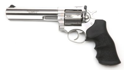 Ruger GP100 stainless Revolver 357Mag