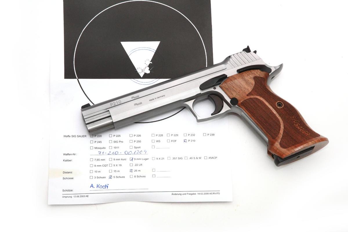 Sig Sauer P210 Super Target 6