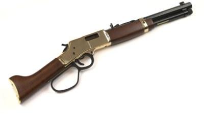Henry Mares Leg Brass Lever Action Pistol