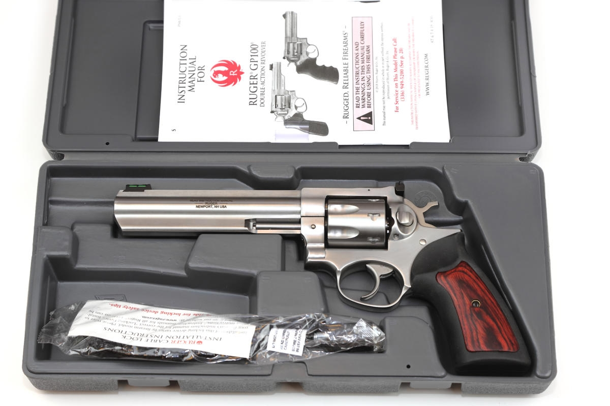 Ruger Revolver GP 100 Model 1773 - 7 Schuss