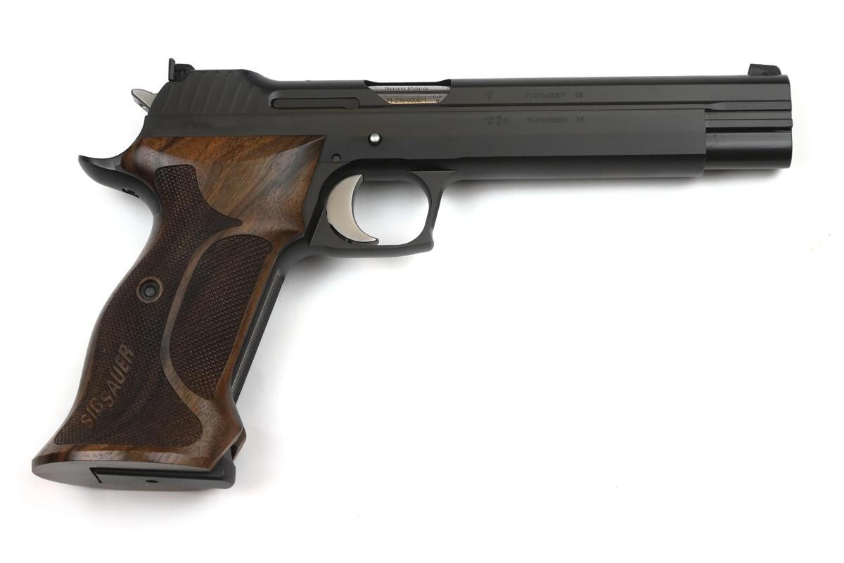 Sig Sauer P210 Super Target 6 Zoll schwarz