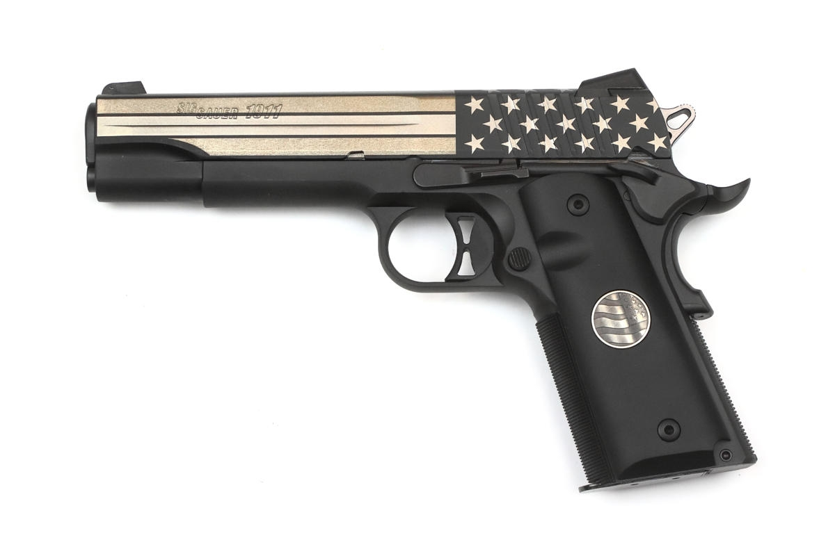 Sig Sauer 1911 Stand 45ACP