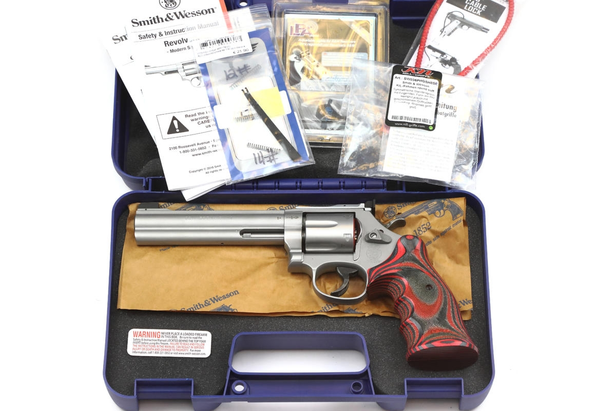 "Smith&Wesson 686 Target Champion PLUS ""Red Devil"""