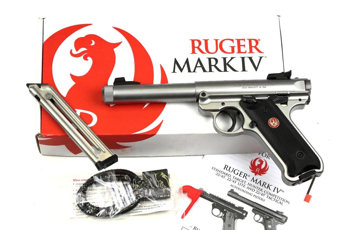 Ruger Mark Iv STS Target Komp