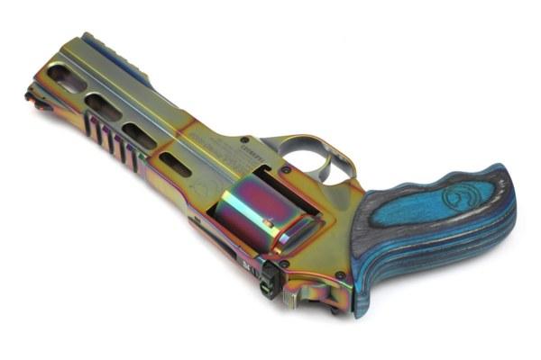 Rhino Revolver 60DS Nebula - Multi Color PVD - 357Mag 6Zoll BBL