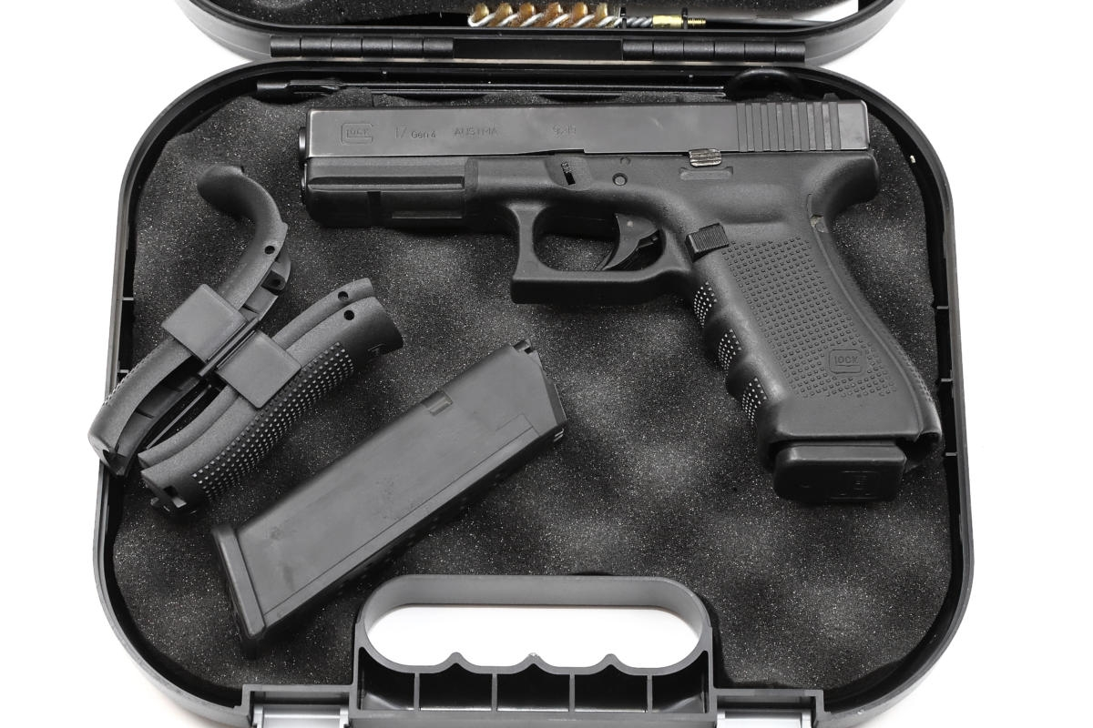 Glock 17 - Gen4 Dienstwaffe gebraucht