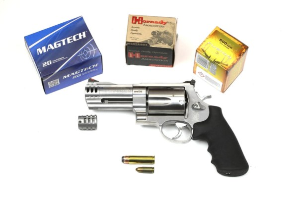 Smith Wesson 500 Magnum 4Zoll