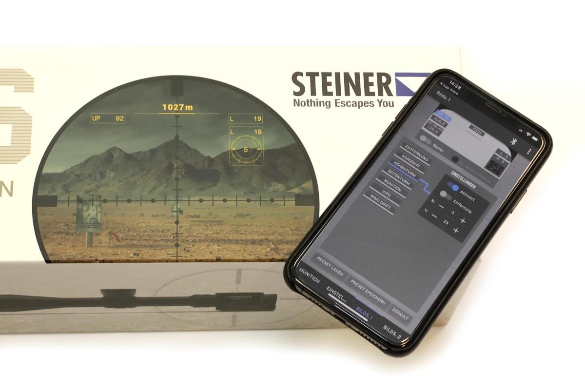 Steiner M7Xi IFS 4-28x56 MSR-2
