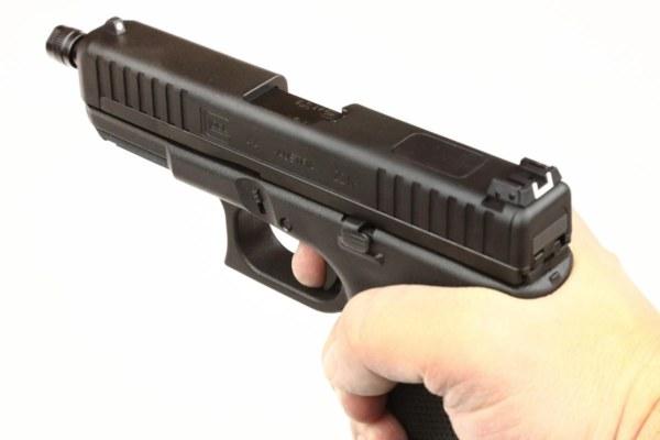 Glock 44 Kaliber 22lr mit Gewinde