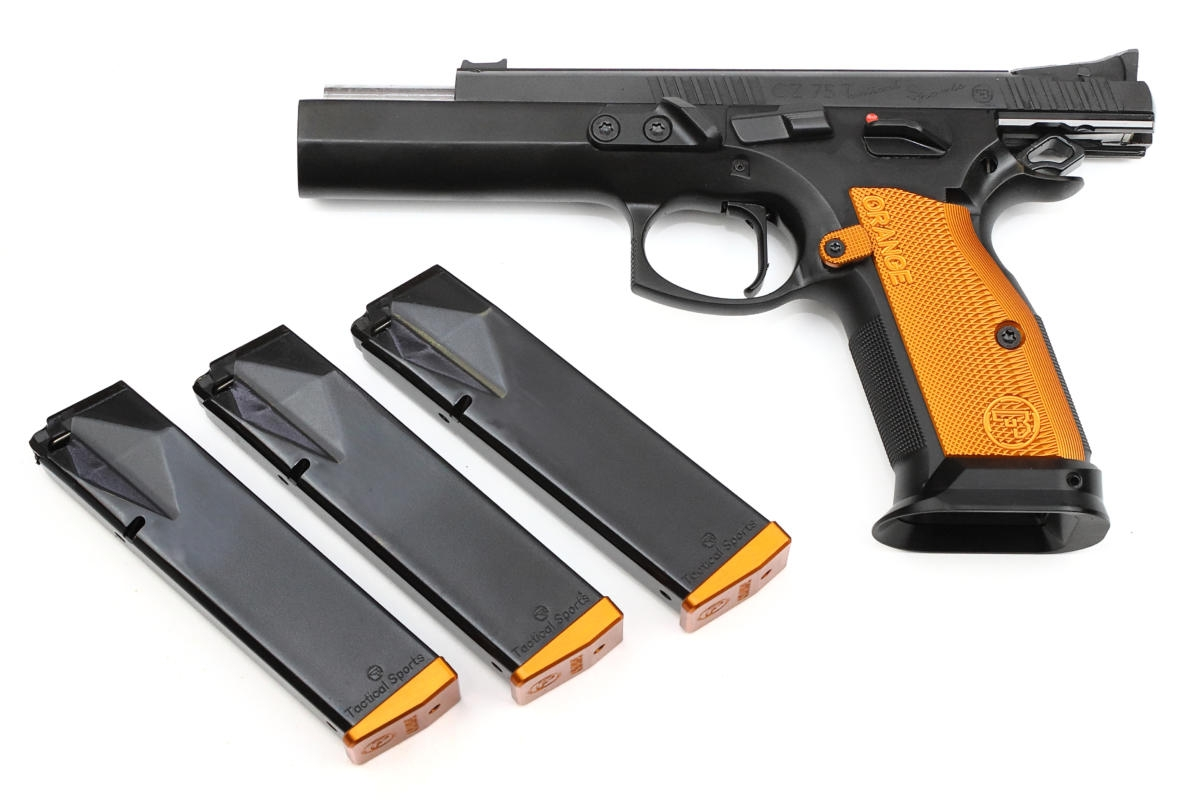 CZ 75 TS Tactical Sports Orange Kaliber 40 SW