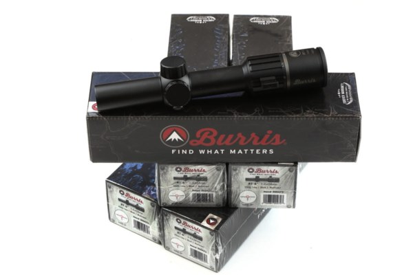 Burris RT-6 Riflescope 1-6x24mm 01