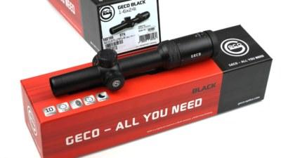 Geco black 1-6x24i Optik 01