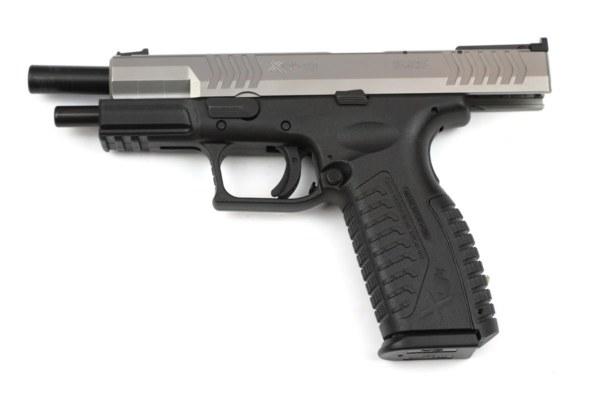 HS XDm-9 5.25 stainless scharz