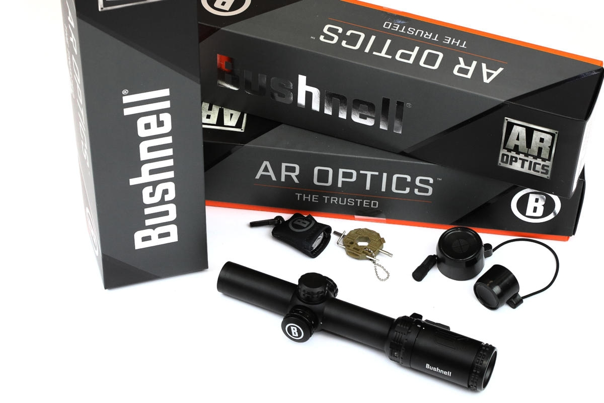 AR Optics 1-8x24 Illuminated Riflescope & American Eagle .223 Bundle