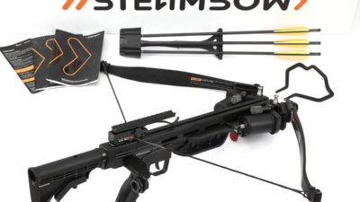 Steambow Onyx Armbrust Pressluft