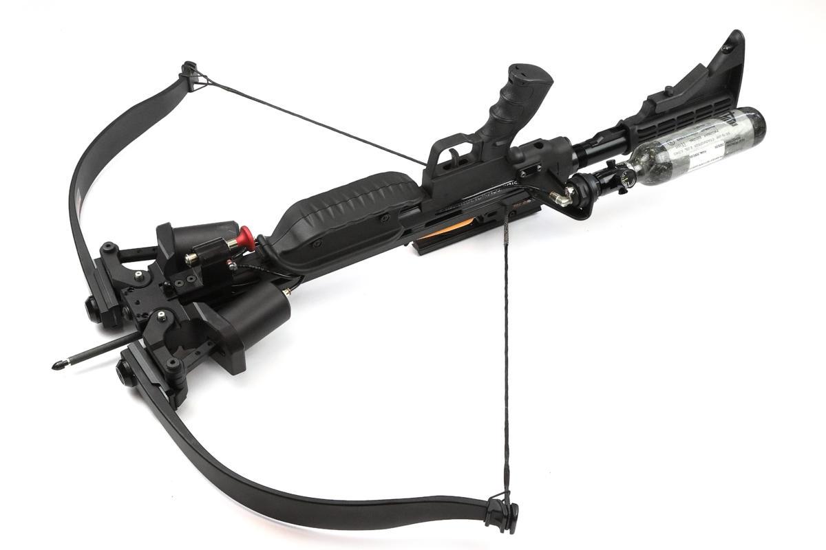 Steambow Onyx Armbrust Pressluft