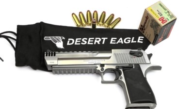 Desert Eagle XIX brushed chrome - Magnum Research ny