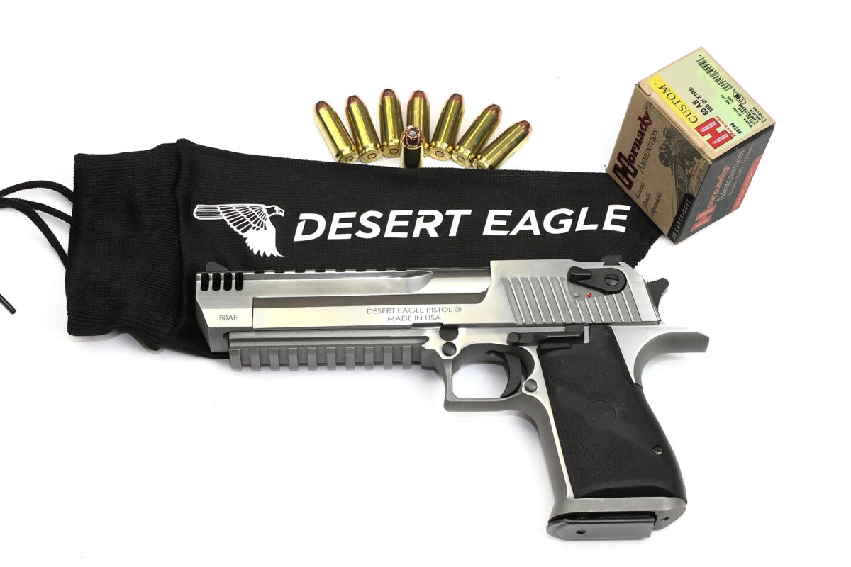 Desert Eagle XIX brushed chrome - Magnum Research ny