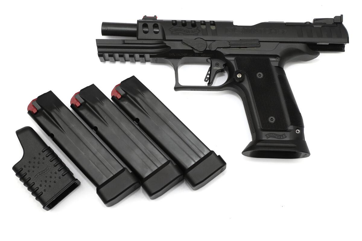 Walther Q5 Match SF Black Ribbon