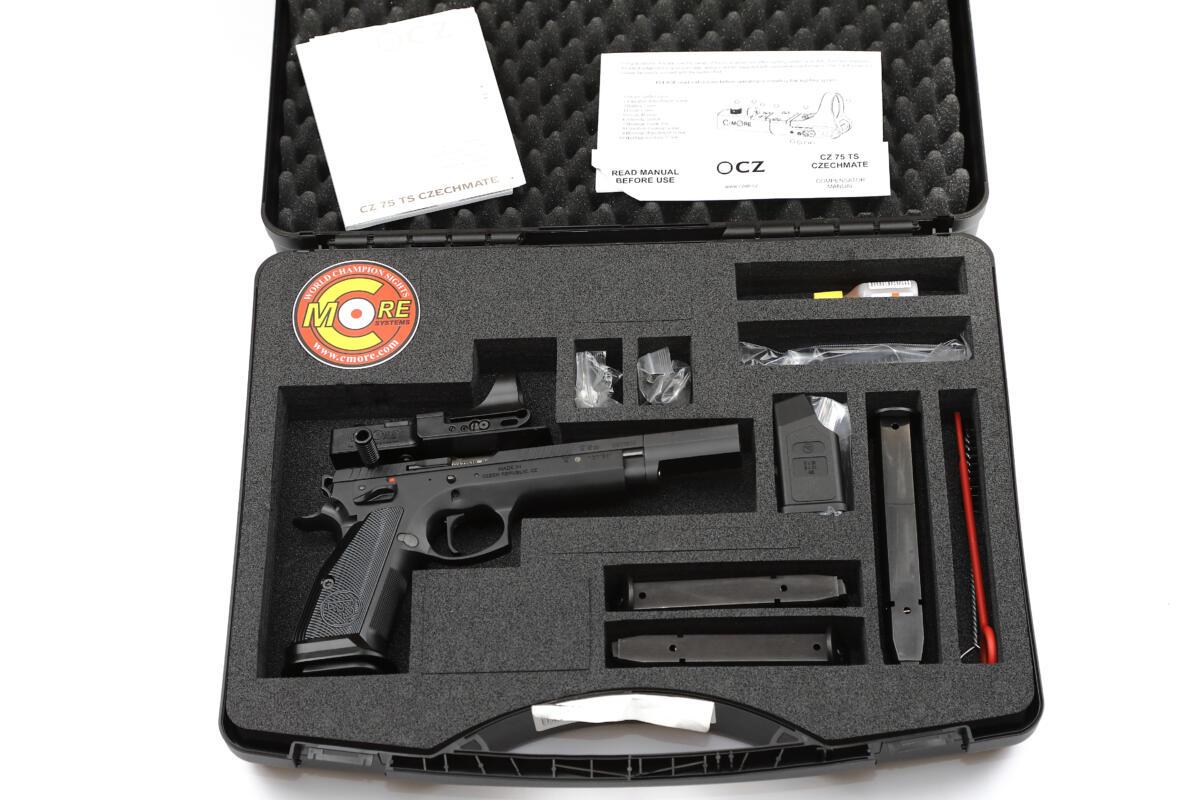 CZ 75 Czechmate Open black 01